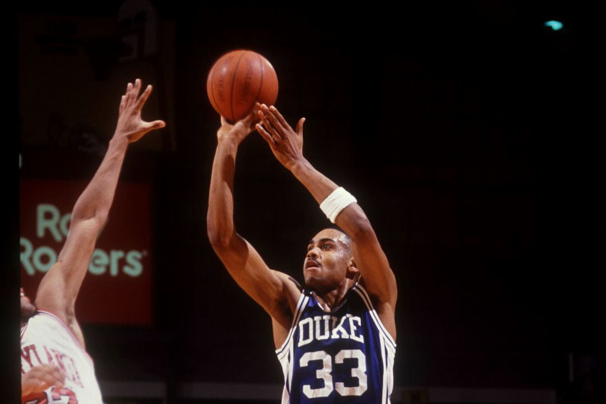 Grant Hill during his magnificent Duke career.