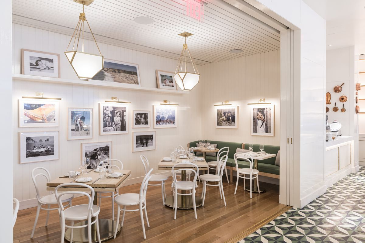 La pecora bianca midtown opens on friday night eater ny for Best private dining rooms midtown