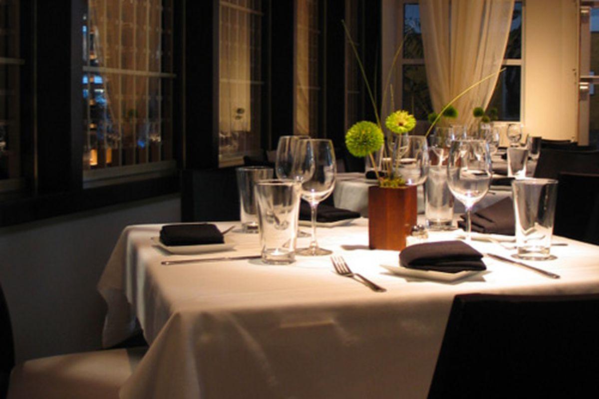 Rathbun's private dining room. Photo courtesy of Rathbun's Restaurants.