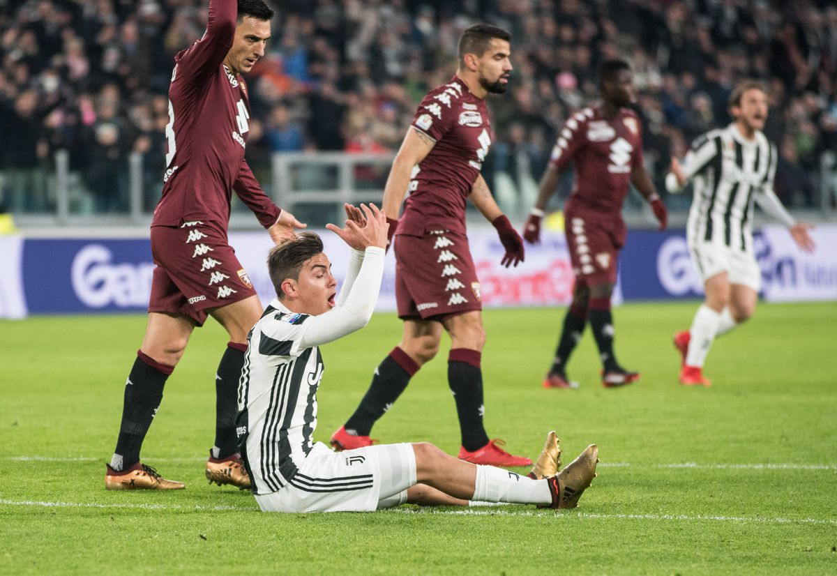 Paulo Dybala (Juventus FC) during the Tim Cup football match...