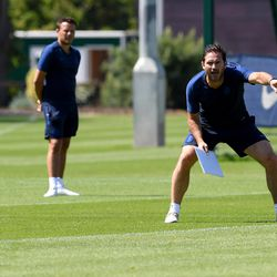 Lampard back to pointing with intent
