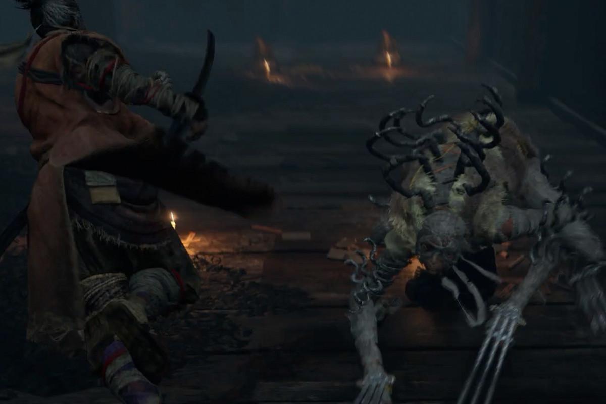 Sekiro Long-arm Centipede Sen'un boss guide