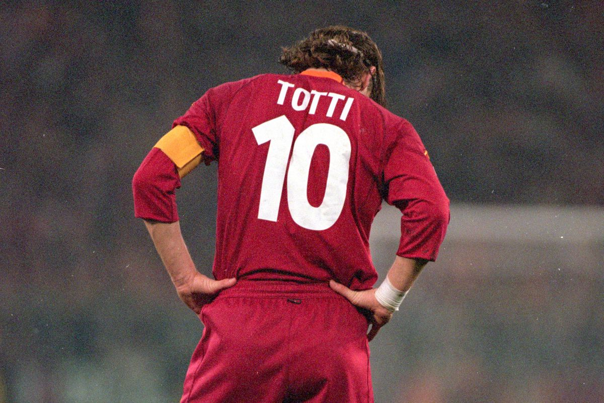 953a625c9 Francesco Totti  The Last Number Ten - Chiesa Di Totti