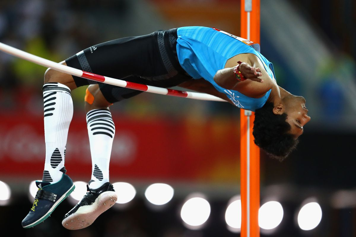 Reigning NCAA high jump champ Tejaswin Shankar leads K-State against its in-state rivals today.