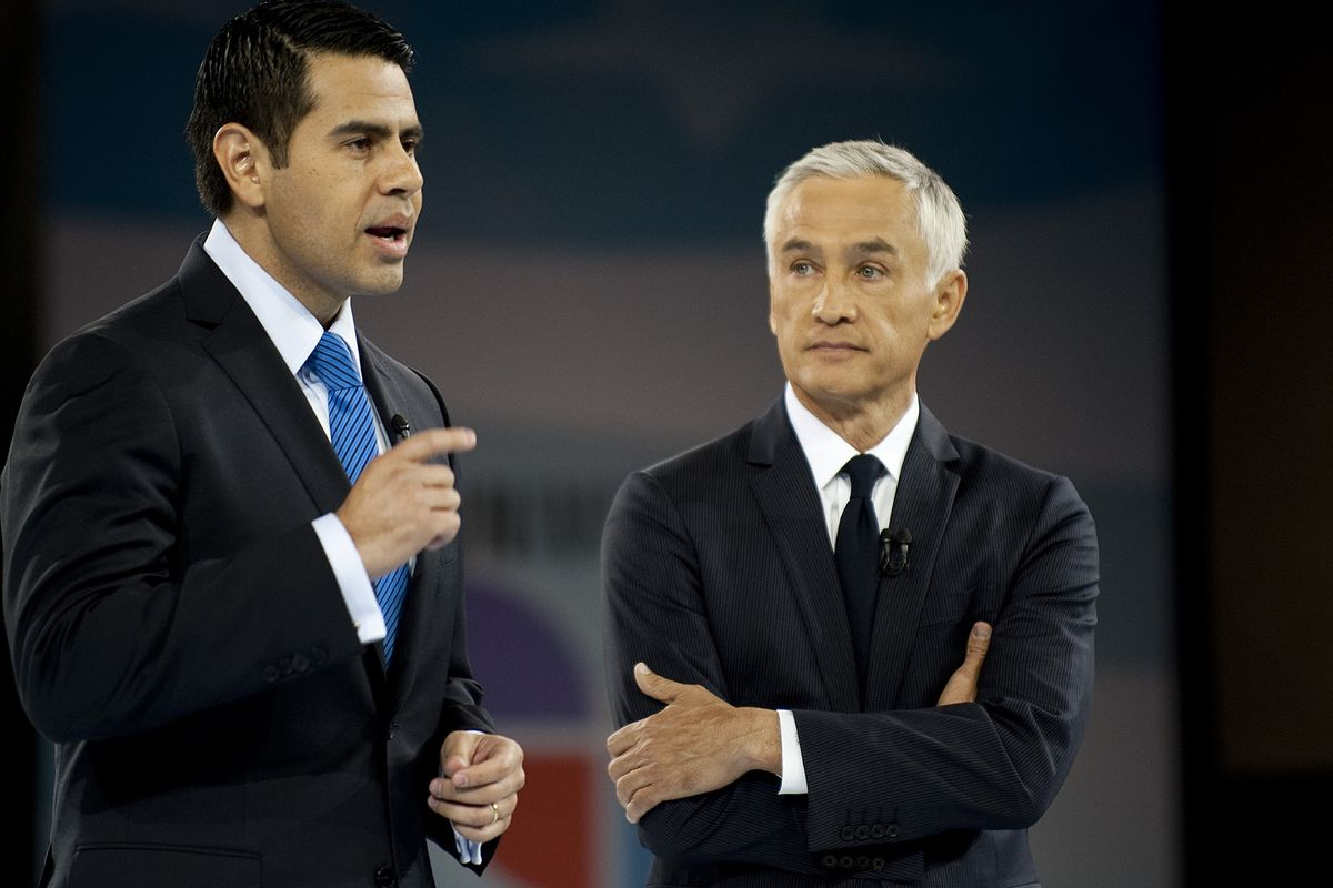 Jorge Ramos doesn't take guff from anybody. Including the president of his network.