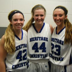 Three senior D1 signees at Heritage Christian High School of Indianapolis