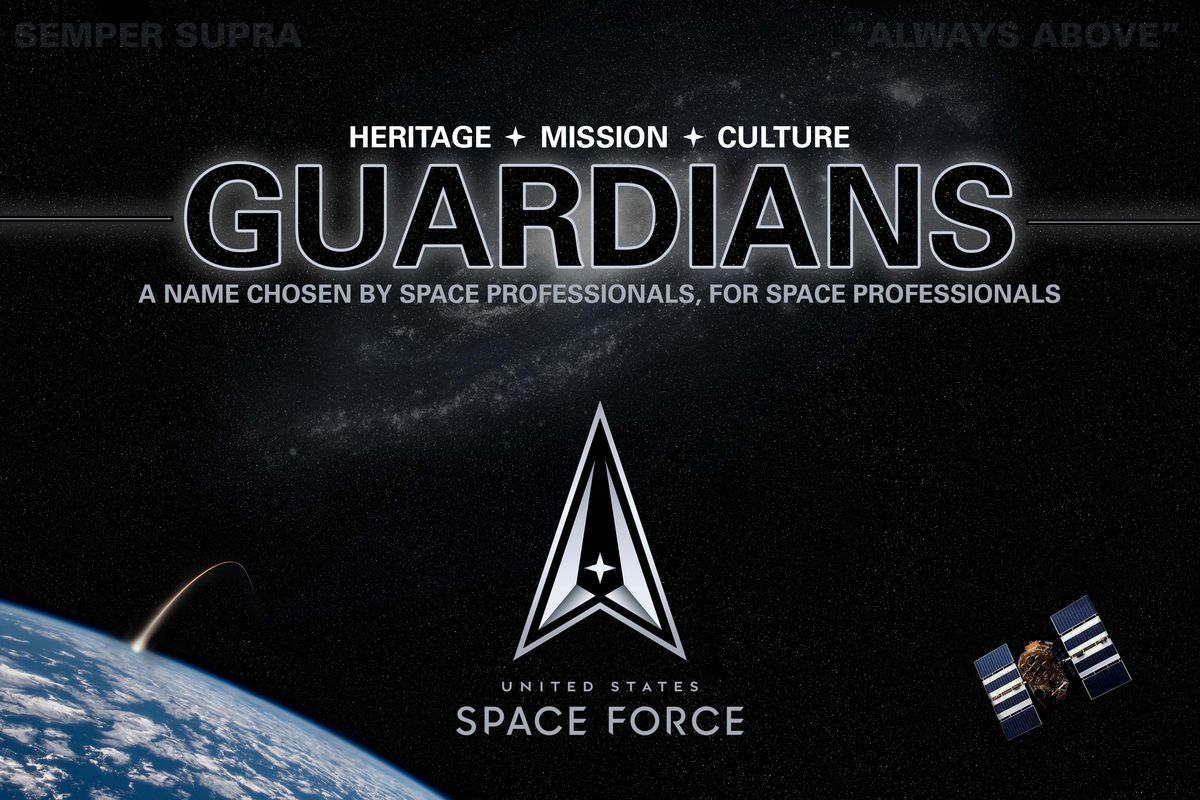 Members of the US Space Force will now be called 'Guardians' - The Verge