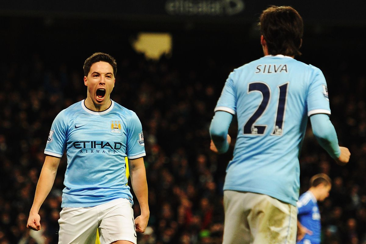 Which City man will have the bigger impact today? I've put my money on David Silva, so it'll probably be Nasri.