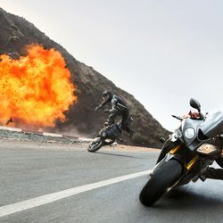 """Tom Cruise plays Ethan Hunt in """"Mission: Impossible – Rogue Nation."""""""