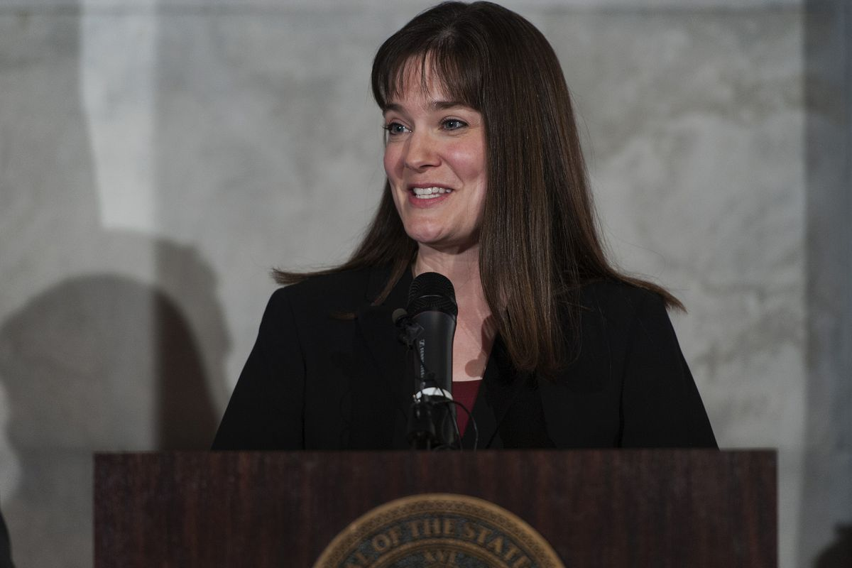 Candice McQueen has been Tennessee's education commissioner since 2015 and oversaw the restructure of its school improvement model in 2017.