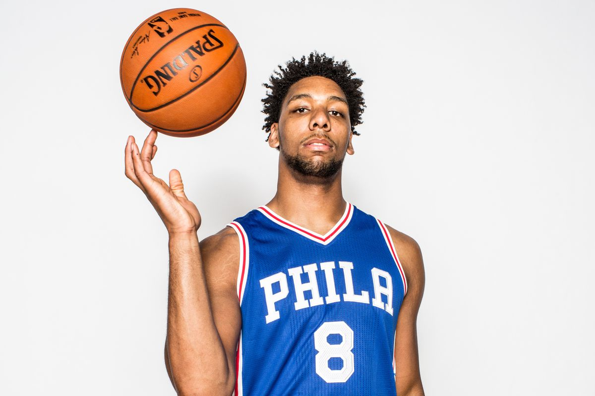 Jahlil Okafor is not of this planet. How do we know? Because no human has hands that big.