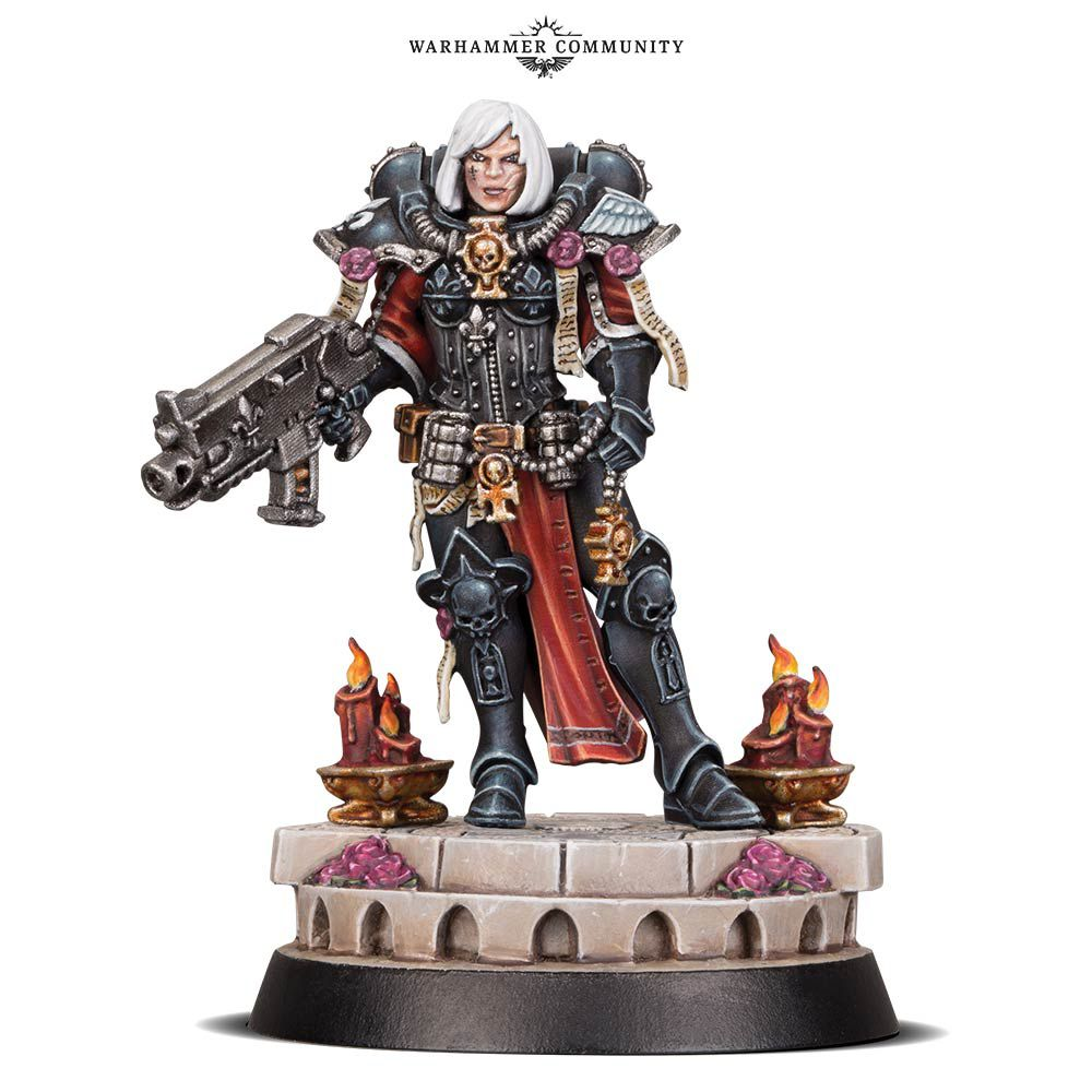 Warhammer 40,000 introduces five images of new Sisters of