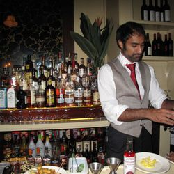 A Man Who Makes A Mean Cocktail
