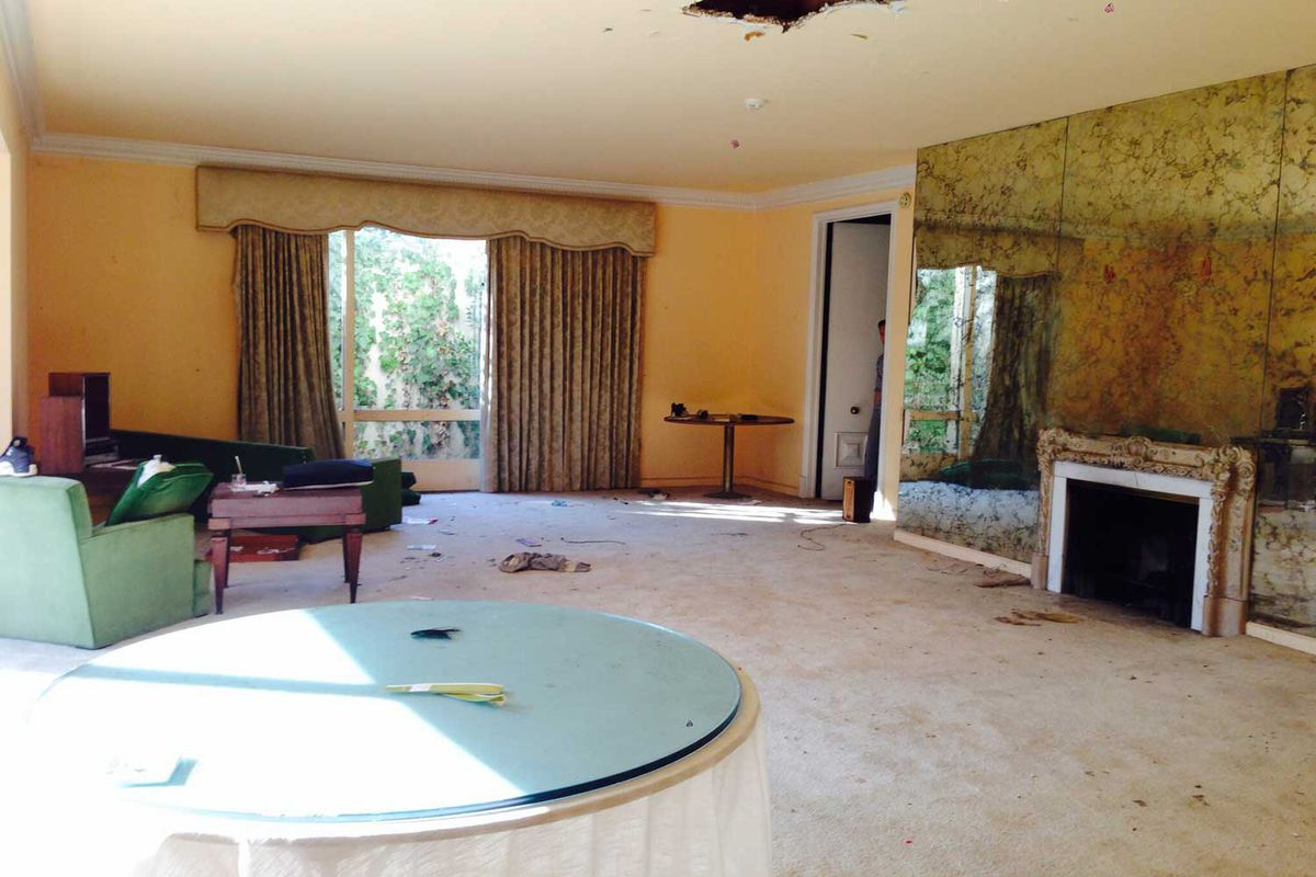 inside vincente minnelli s long abandoned bev hills mansion curbed la