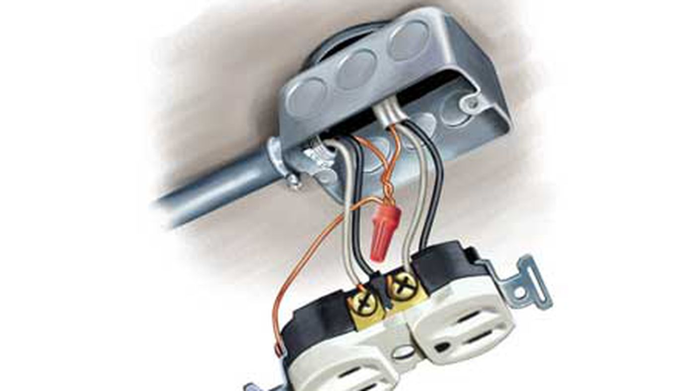 Electrical Upgrade for DIYers: Installing a Floodlight - This Old HouseThis Old House