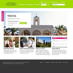 The relaunch of mormon.org includes a complete redesign of the website, moving toward a more personal approach with LDS Church members.