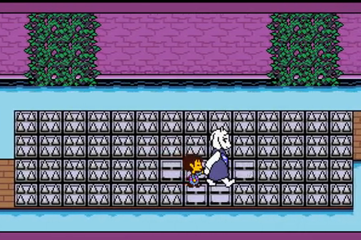 UnderTale combines classic RPG gameplay with a pacifist