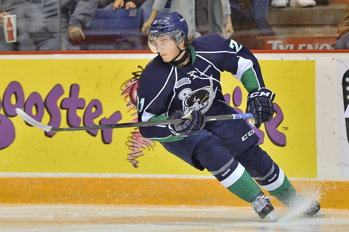 Ryan Hartman of the Plymouth Whalers
