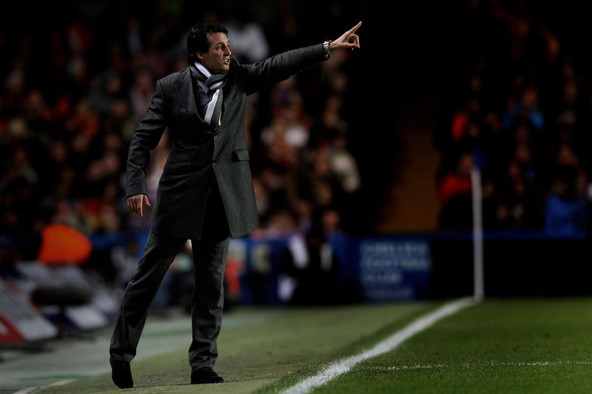 It's been a while since we've last seen Unai Emery at the Camp Nou.