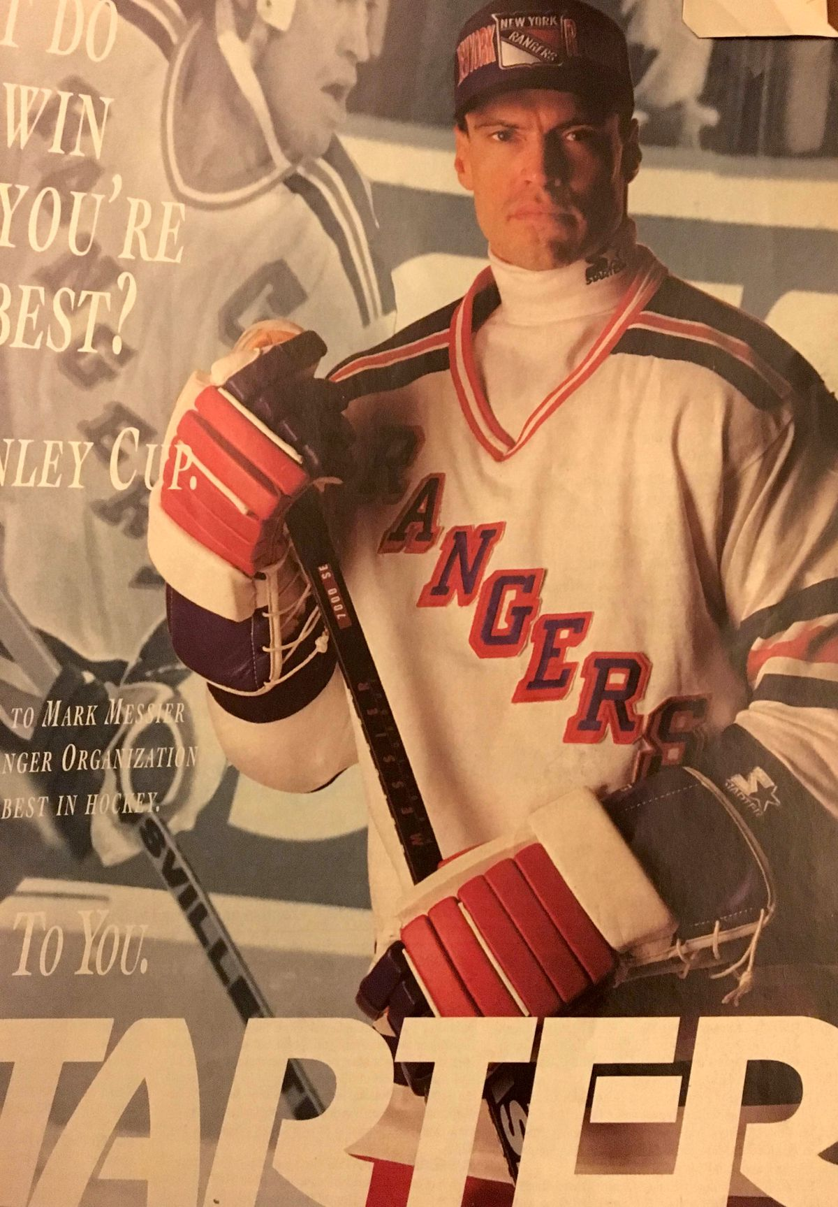 Messier in a bad ad for bad apparel by a bad company with a bad team