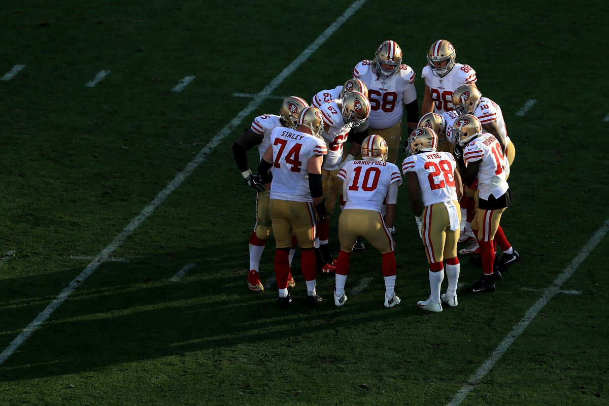 4ef7e9ab4 2018 Giants opponents  The San Francisco 49ers are coming - Big Blue ...