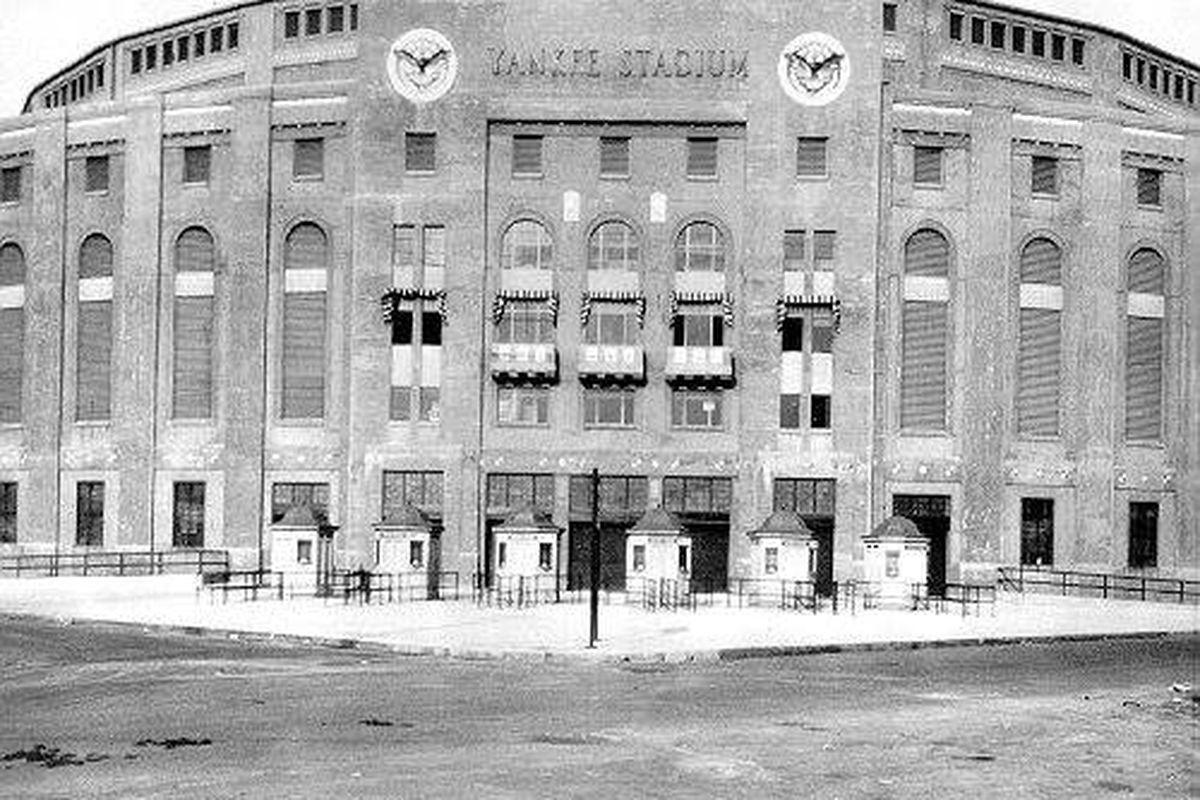 Yankee Stadium, Opening Day 1923.