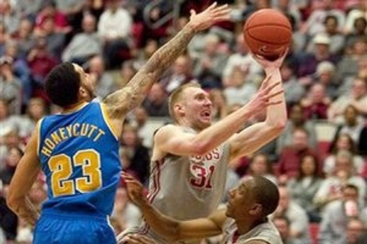 Abe Lodwick's shot face will make it's final appearance at Beasley Coliseum.