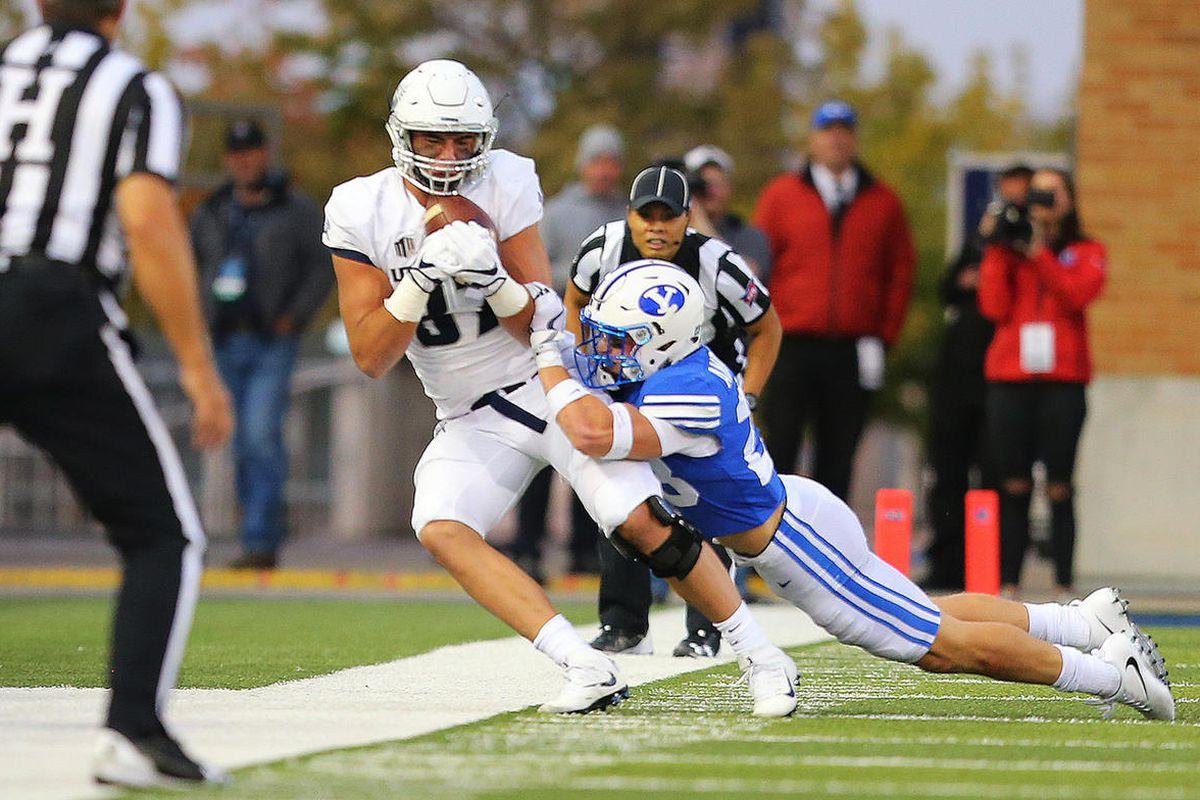 sale retailer 8113a 0364d BYU, Utah State extend football series through 2022 ...