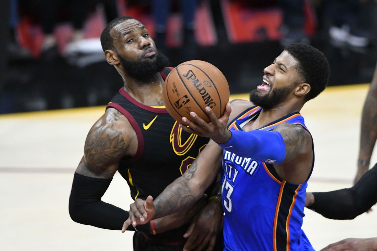 a8f5cc0659c NBA Free Agency 2018  LeBron James trade scenarios but why Paul George  should be more compelling for New Orleans Pelicans