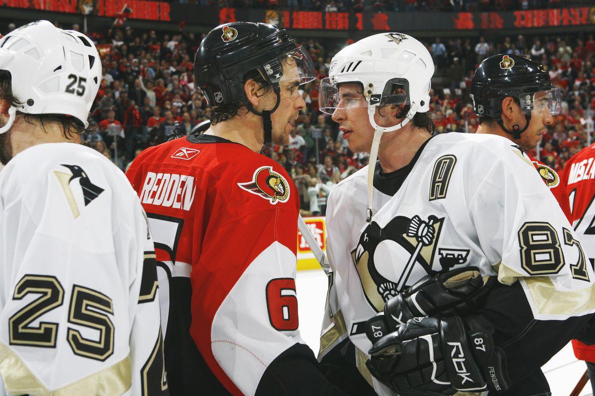 Penguins v Senators game 5