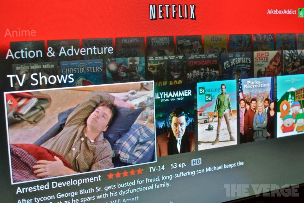 Netflix Xbox 360 April 9 update