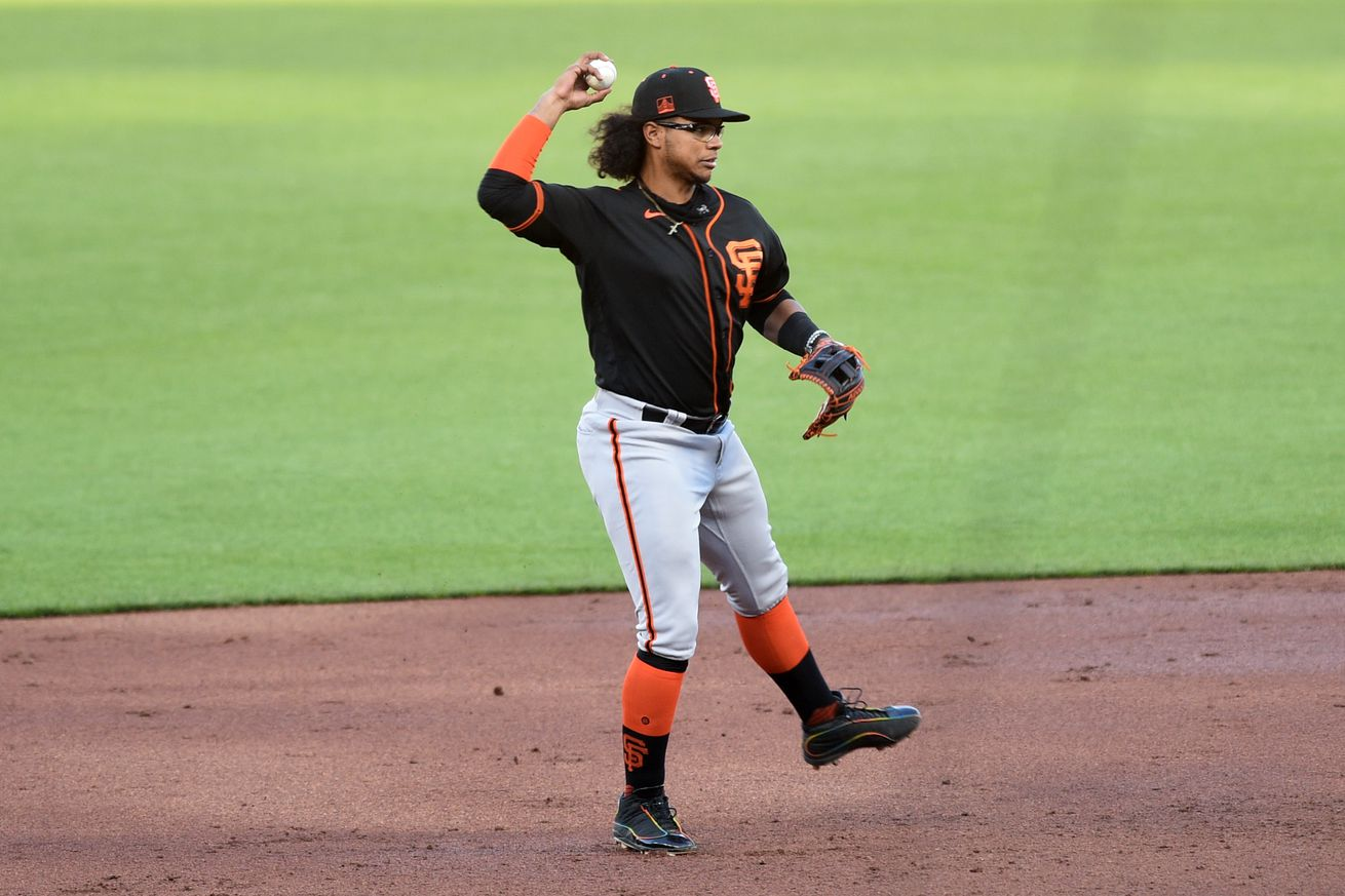 MLB: JUL 18 Giants Summer Camp