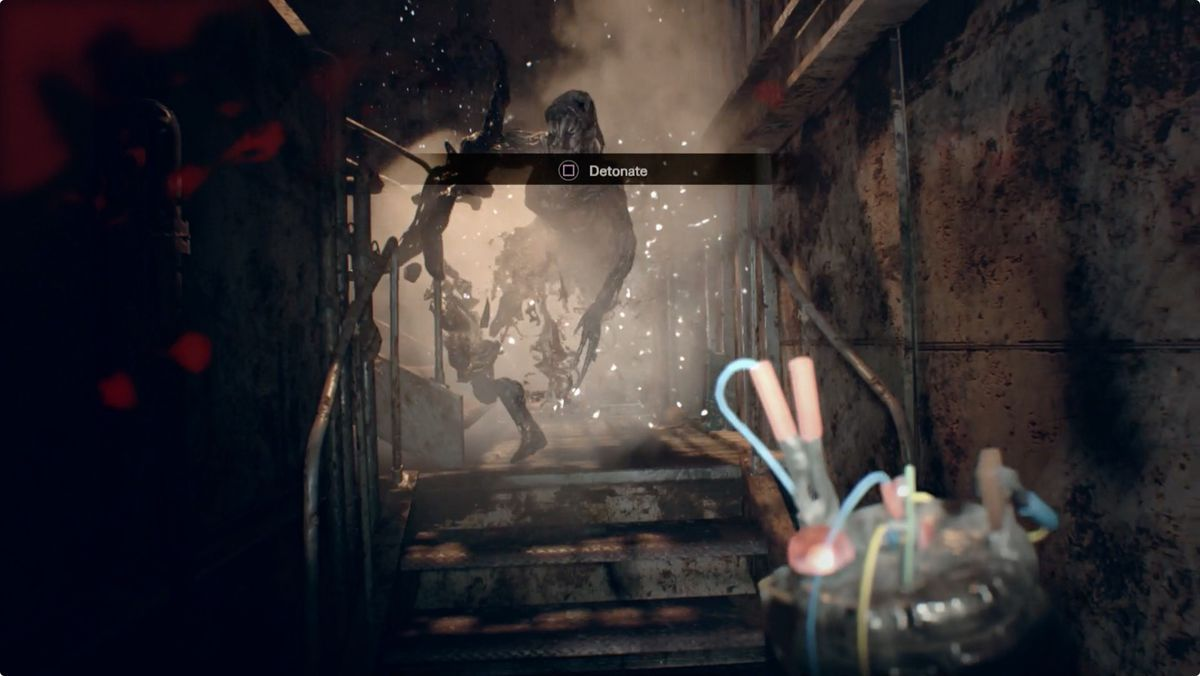 Resident Evil 7 Guide And Walkthrough 6 4 Fixing The Elevator Old Barn Fuse Box Wiring Back In Hall Continue To Right Room At End Of Is That Two Level With Raised Center Turn Left When You Get Inside