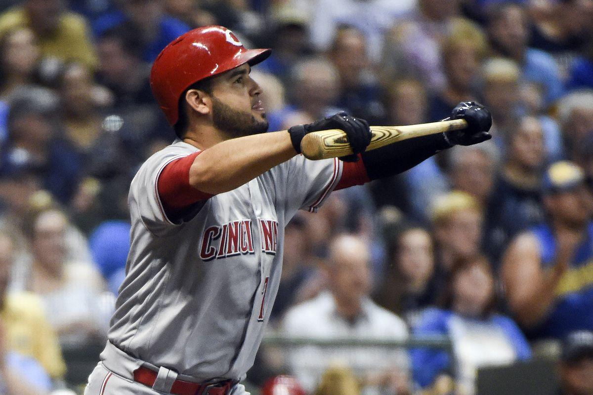 MLB: Cincinnati Reds at Milwaukee Brewers