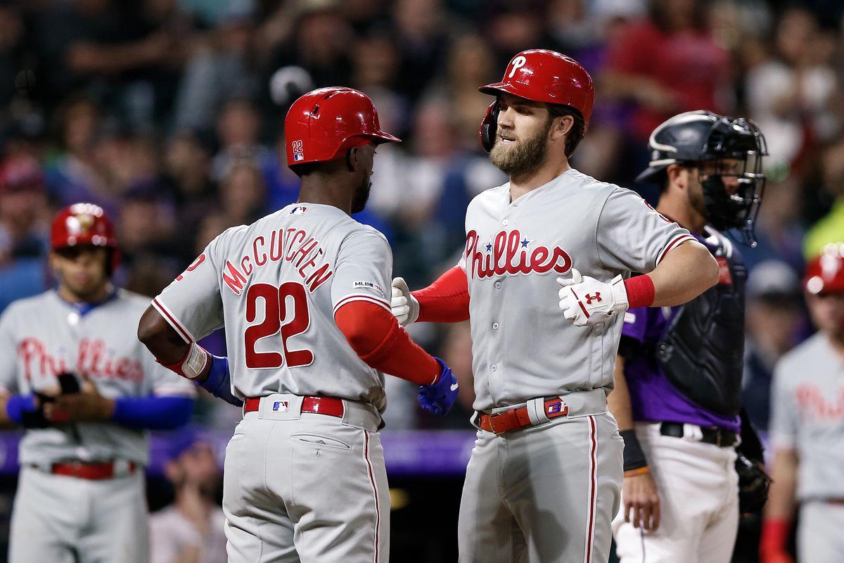 MLB: Philadelphia Phillies at Colorado Rockies