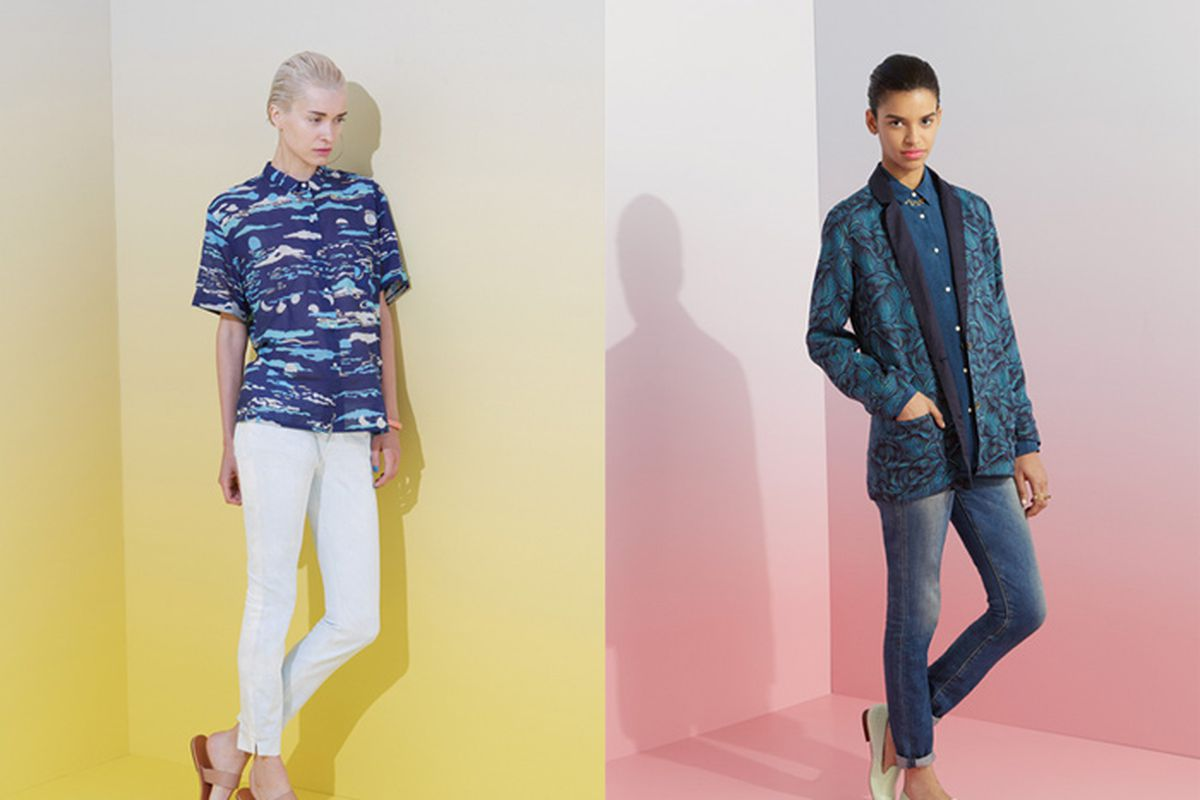 """Images via <a href=""""http://levismadeandcrafted.com/looks-women/"""">Levi's Made &amp; Crafted</a>"""
