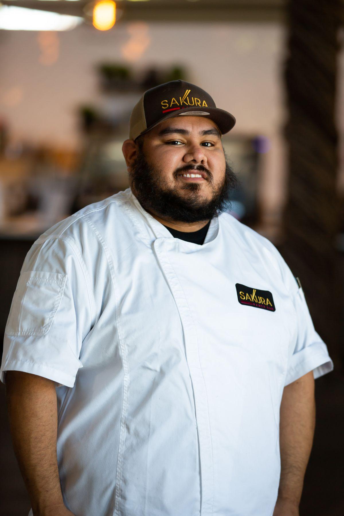Chef Hugo Valdez of Sakura Ramen