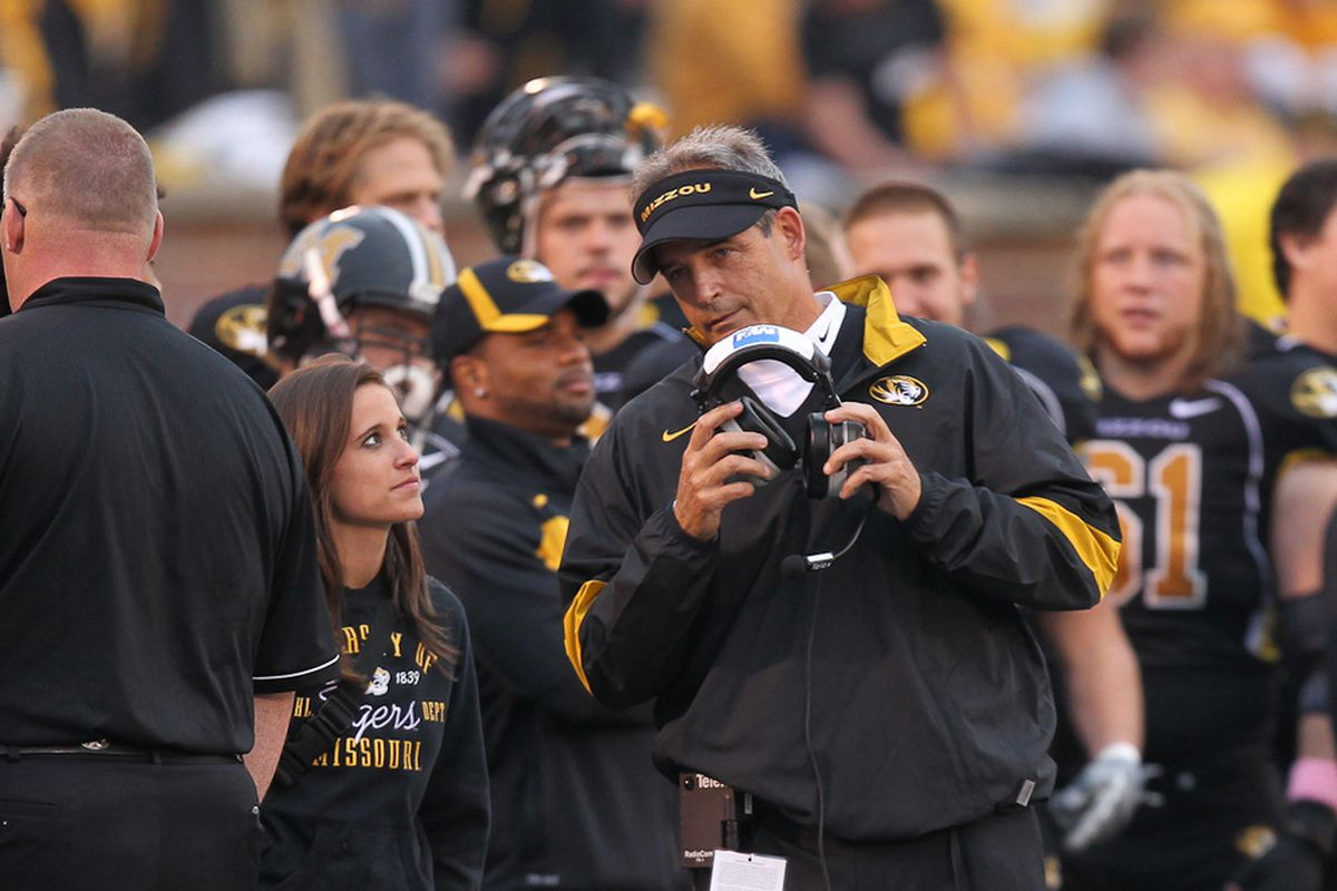 Interesting hire coming up for Gary Pinkel. (Photo via Bill Carter.)