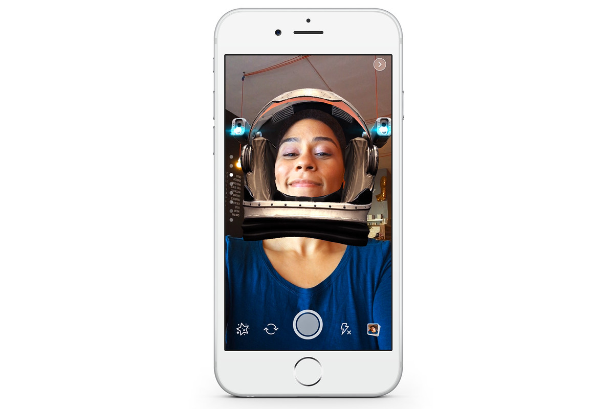 Facebook clones Snapchat's face filters and ephemeral ...
