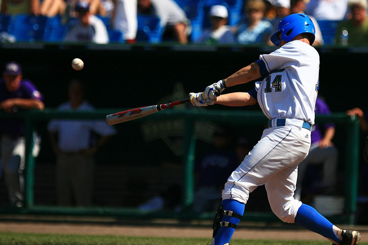 <em>Dean Espy and his Bruins will try to lock in again tonight. Photo Credit: Brad Williams (UCLA Athletics)</em>