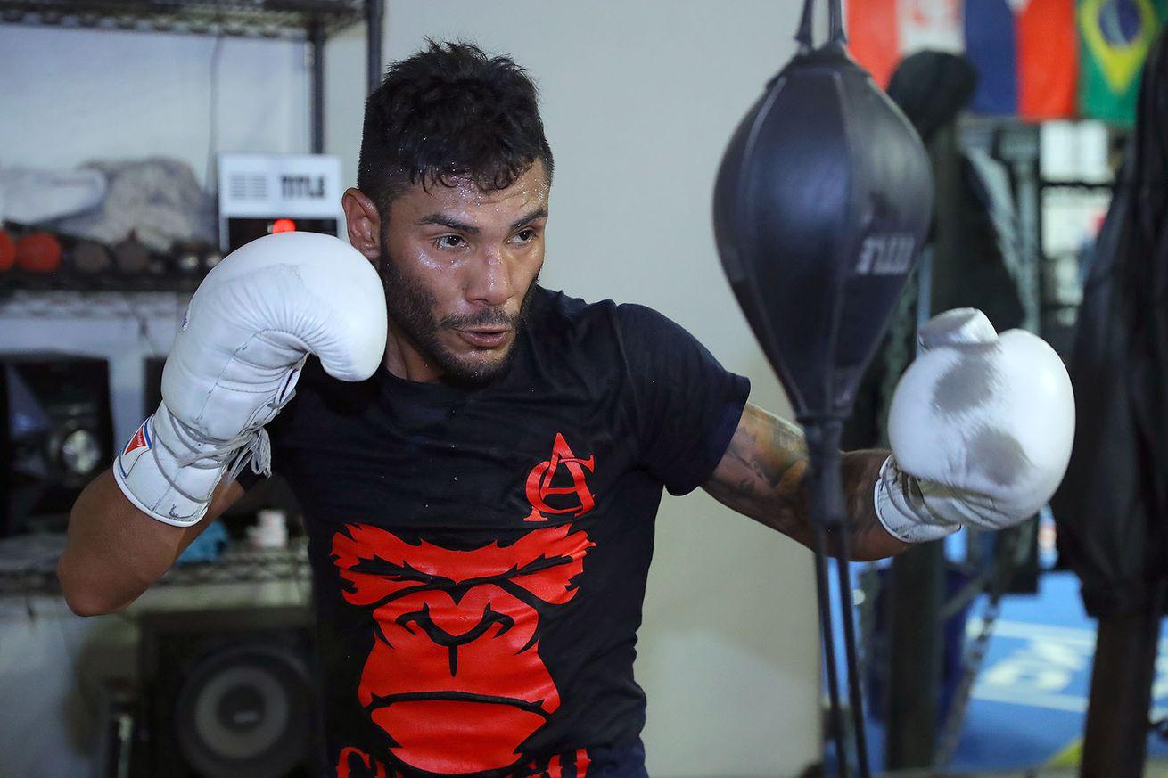 CancioWorkout4Alvarado Hoganphotos5.0 - Cancio wants Santa Cruz if both win WBA title fights on Nov. 23