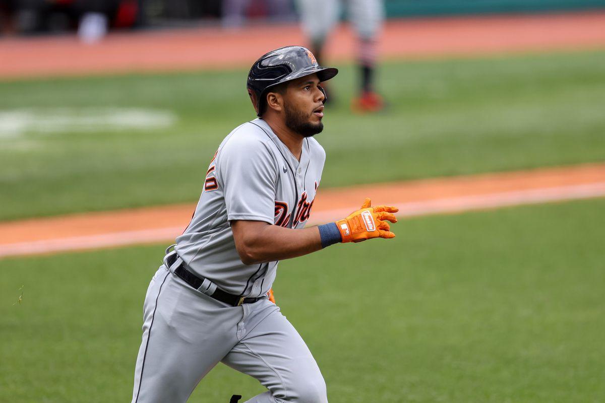MLB: APR 11 Tigers at Indians