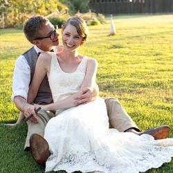 """For the thriftier bride, find a dress in <a href=""""http://www.etsy.com/search?locationQuery=5391959&q=wedding+dress&ref=local_search_custom_v2"""">Etsy's</a> local section."""