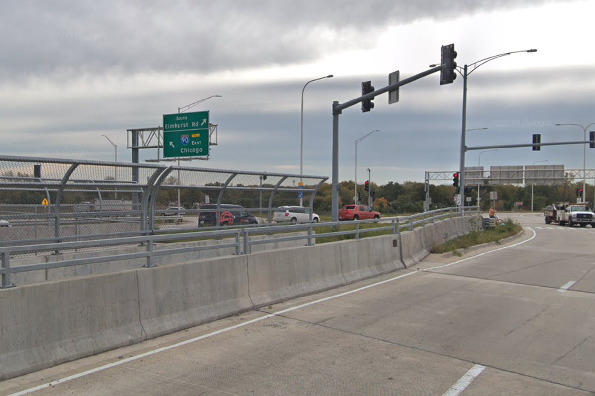 I-90 ramps at Elmhurst Road could be closed for 10 hours