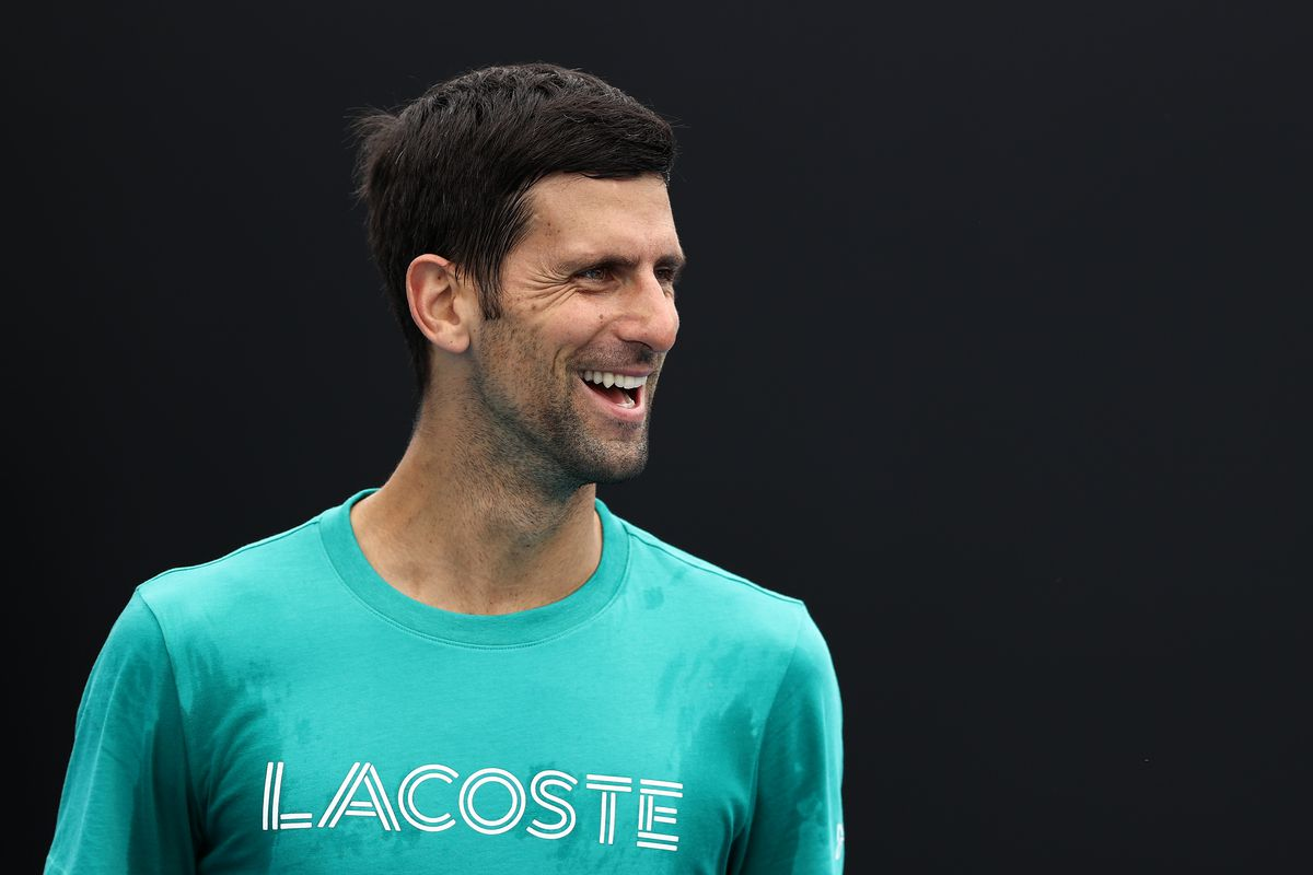 Player Practice Sessions In The Lead Up To 2021 Australian Open