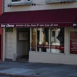 """Say Cheese, 856 Cole Street. <a href=""""http://www.yelp.com/biz_photos/say-cheese-san-francisco#8YRVqmq1KRmm-2HW-ynY4g"""">Image via Yelp</a>. You haven't lived until you have sampled all the $30+ per pound bleus at this Cole Valley cheesemonger. If you're goi"""