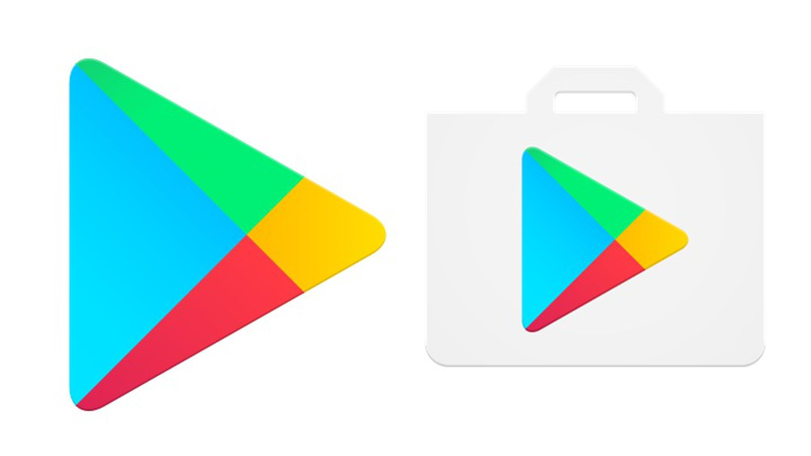 Google Drops The Shopping Bag From The Play Store Icon