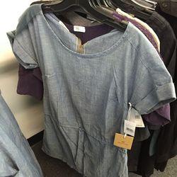 Denim dress, $49 (was $148)