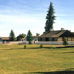 View of Fort Bridger, Uinta County, Wyoming. (1993)