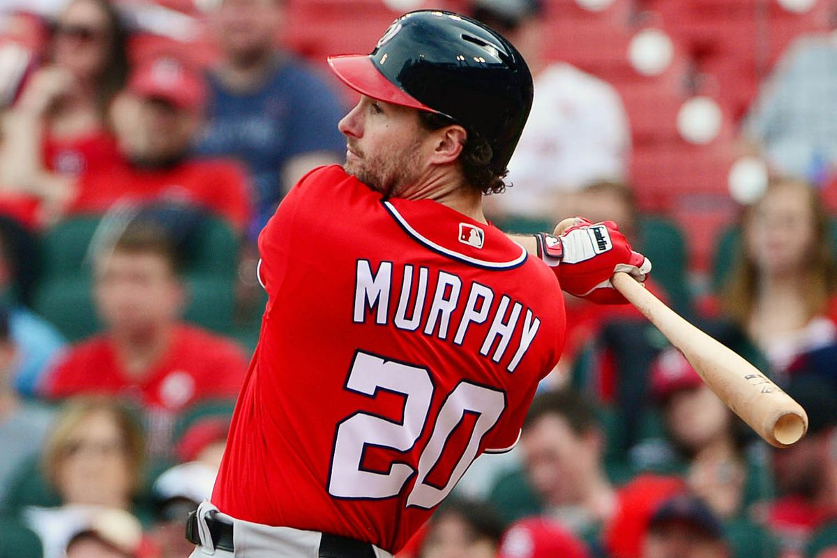differently 23e99 4113f Nationals' second baseman Daniel Murphy takes on the Mets in ...